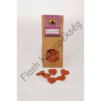 Vörös bársony keksz
